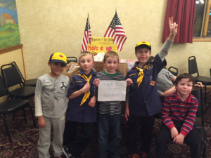 Thank You from Cub Scouts - Insert 5
