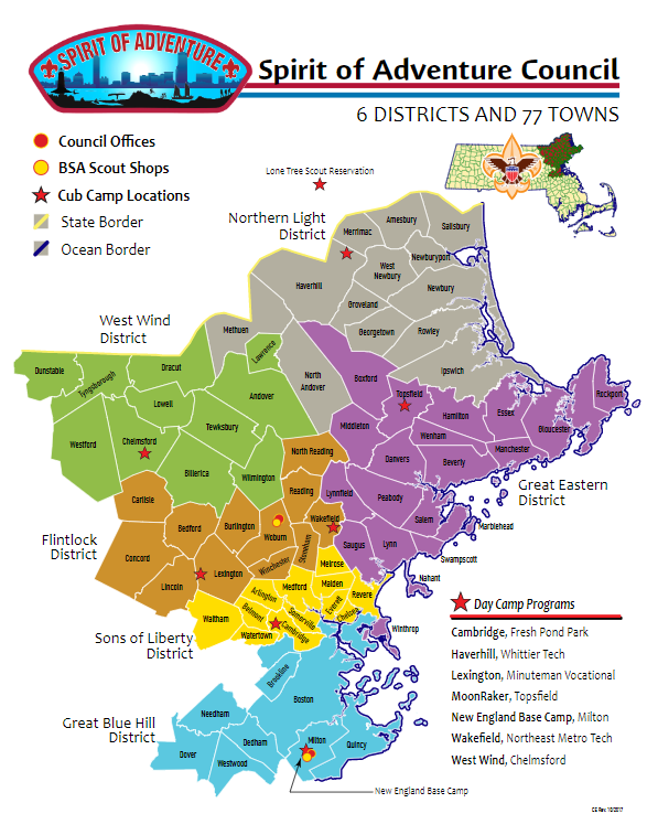 council map 2018