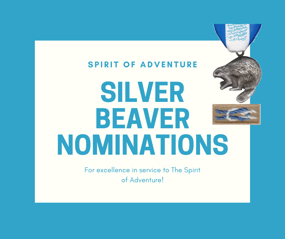 silver beaver nomination