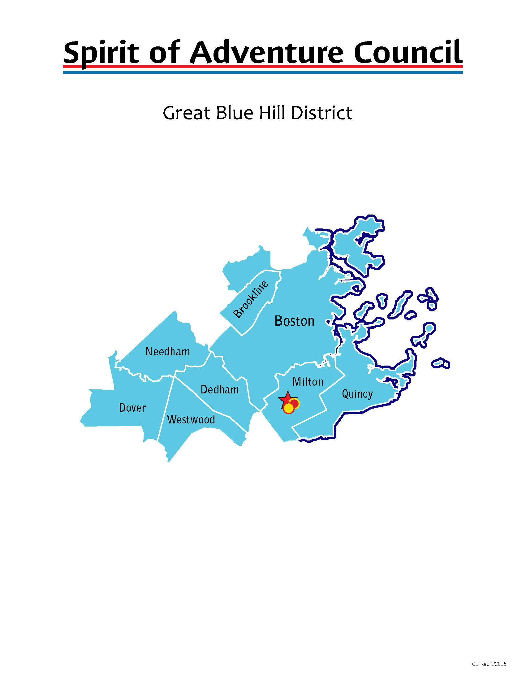 Great Blue Hill District