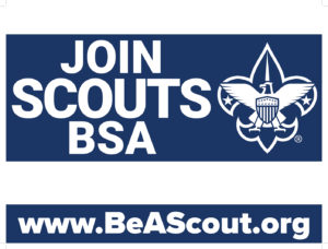Scouts BSA Yard Sign